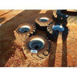 (4) 26X12.00-12 NHS TIRES W/RIMS  Tire
