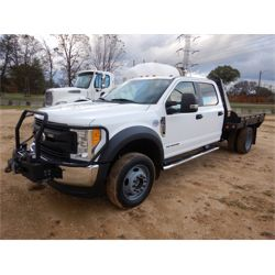 2017 FORD F450 Flatbed Truck