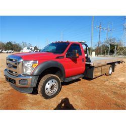 2015 FORD F550 Rollback Truck