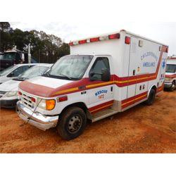 2003 FORD E450 AMBULANCE Emergency Vehicle