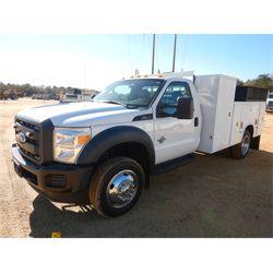 2012 FORD F550 Service / Mechanic Truck