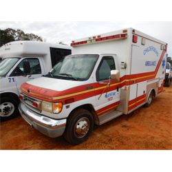 2001 FORD E350 AMBULANCE Emergency Vehicle