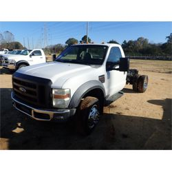 2008 FORD F550 Cab and Chassis Truck