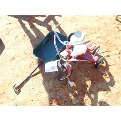 (2) tri-cycle & small wagon