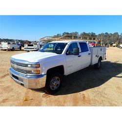 2015 CHEVROLET 2500 HD Service / Mechanic / Utility Truck