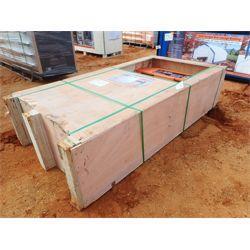 TMG ~ 75 ton hydraulic shop press, air motors & manual pump operation (C6)