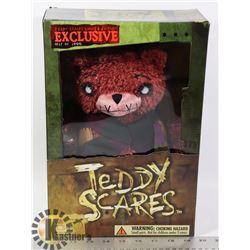 TEDDY SCARES CREEPY TEDDY BEAR LTD EDTN.
