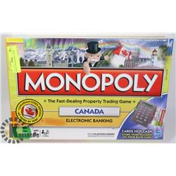 SEALED 2009 MONOPOLY GAME