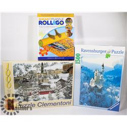 SEALED PUZZLES ROLL & GO