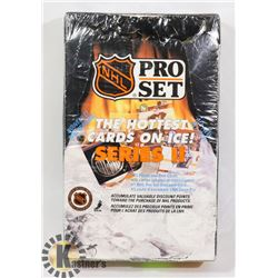 SEALED BOX OF NHL PRO SET SERIES II (1990)