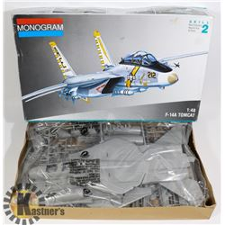 MONOGRAM F-14A TOMCAT 1:48 SCALE MODEL.