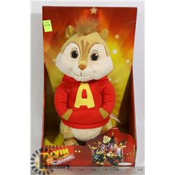 ALVIN AND THE CHIPMUNKS PLUSH FIGURE NEW