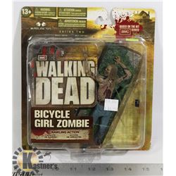 WALKING DEAD BICYCLE GURL CRAWLING ZOMBIE NEW