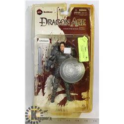 DRAGON AGE LOGHAN ACTION FIGURE NEWSPAPER