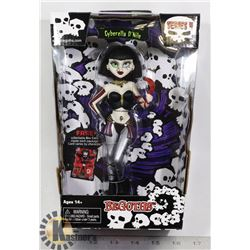 GOTHS DOLL CYBERELLA DNITE COLLECTIBLE NEW