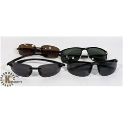 FLAT OF 2 POLARIZED EDDIE BAUER SUNGLASSES & MORE
