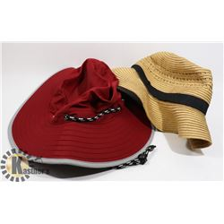 PANAMA PACKABLE STRAW AND EXPLORATION WIDE BRIM