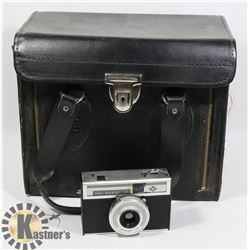 VINTAGE AGFA ISO RAPID CAMERA WITH CASE