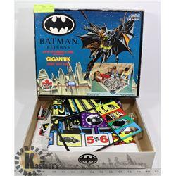 VINTAGE BATMAN GIGANTIC CRIME WAVE GAME