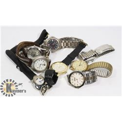ASSORTMENT OF VINTAGE WRIST WATCHES