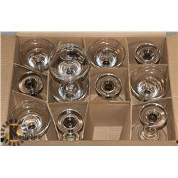 12 PC NEW ARCOROC 7 OZ MARGARITA GLASS