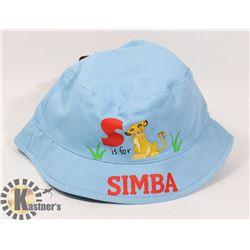NEW LICENSED DISNEY LION KING SIMBA KIDS HAT