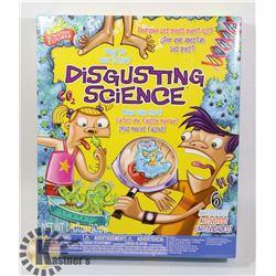 NEW SCIENTIFIC EXPLORER DISGUSTING SCIENCE SET