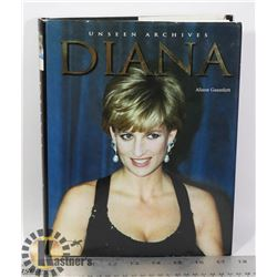 UNSEEN ARCHIVES: DIANA HARDCOVER BOOK