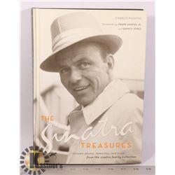 THE SINATRA TREASURES HARDCOVER BOOK