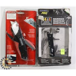 CRAFTSMAN UTILITY KNIFE/ WIRE STRIPPER SOLD WITH