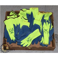 FLAT OF ANSELL COATED WORK GLOVES