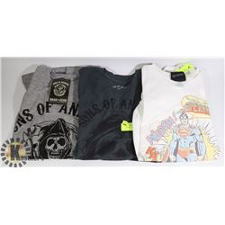 BUNDLE OF 3 SIZE SMALL POP CULTURE T-SHIRTS