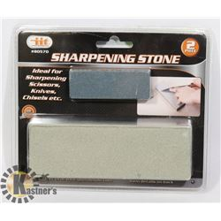 NEW 2PC SHARPENING STONE SET