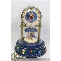 MUSICAL NUTCRACKER ANNIVERSARY CLOCK