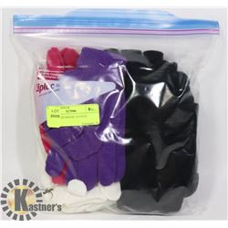 12PK LADIES MAGIC GLOVES