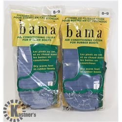 TWO PAIRS OF NEW BAMA AIR CONDITION SYSTEM FOR