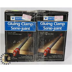 TWO MASTERCRAFT GLUING CLAMPS