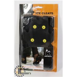 NEW KORKEEZ ICE CLEATS SIZE LARGE (8.5-11)