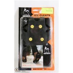 BRAND NEW KORKEEZ ICE CLEATS SIZE LRG 8.5-11