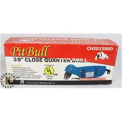 "3/8"" CLOSE QUARTER DRILL"