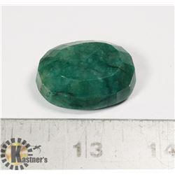 #217-GREEN EMERALD GEMSTONE 120.5ct