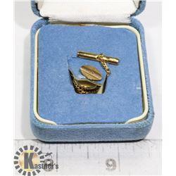 10K GOLD BIRKS PIN (VINTAGE) IN ORIGINAL CASE