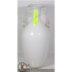 ORIGINAL HANDBLOWN GLASS VASE - 14.5 INCHES HEIGHT