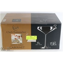 NEW CHEF AND SOMMELIER CABERNET CHAMPAGNE GLASS