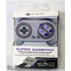 NEW MY ARCADE SUPER GAMEPAD WIRELESS CONTROLLER