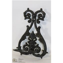 CAST IRON WALL SCONCE