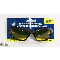 NIGHT VISION GLASSES WITH UV PROTECTION