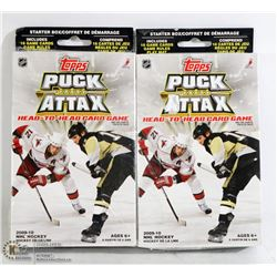 2PK OF TOPPS PUCK ATTAX 2009-2010 CARD GAME