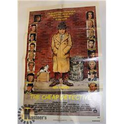 1978 ORIGINAL POSTER CHEAP DETECTIVE P. FALK