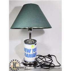 NEW YORK RANGERS LAMP